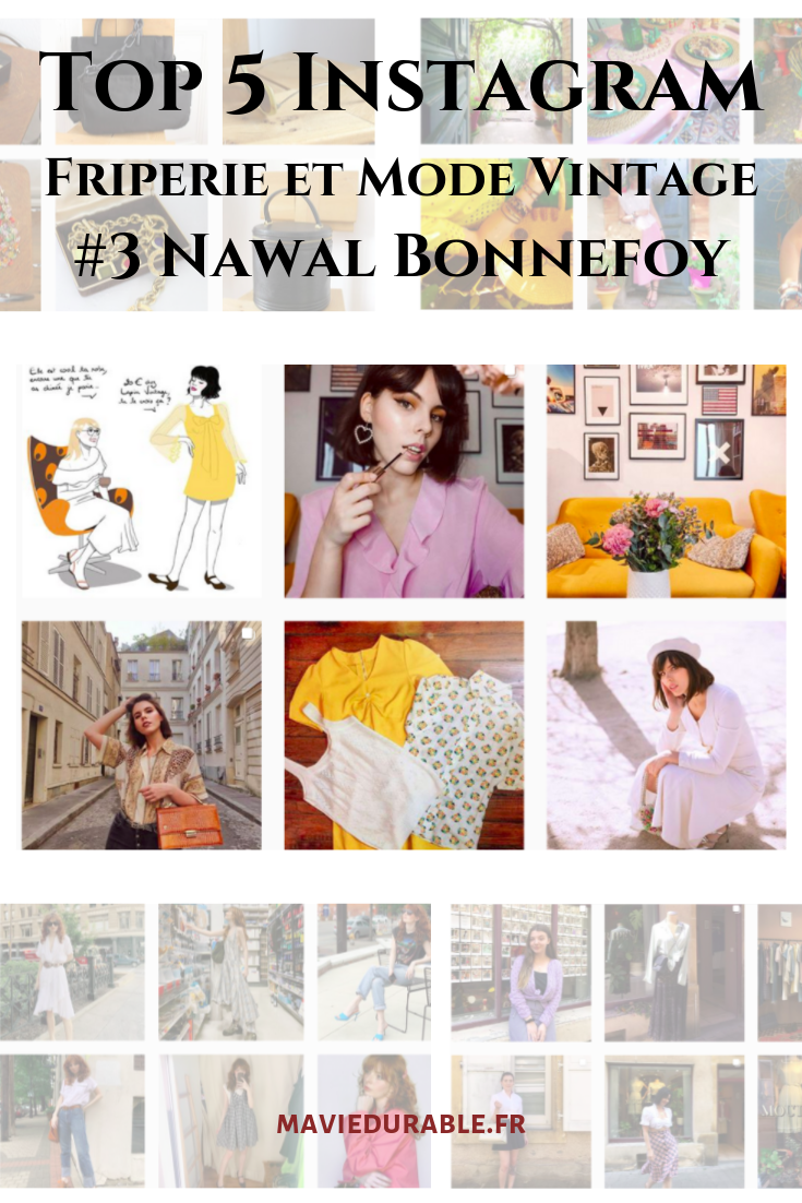 nawal bonnefoy bloggeuse mode retro