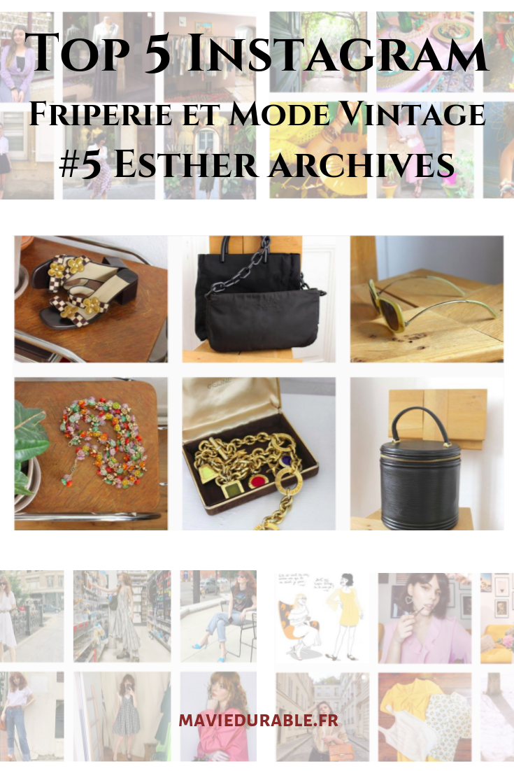 Esther archive mode instagram france